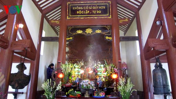 Ho Chi Minh temple